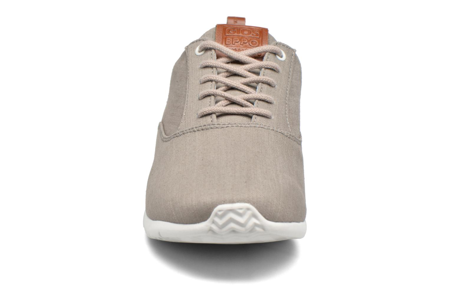 Baskets Gioseppo Omer Gris vue portées chaussures
