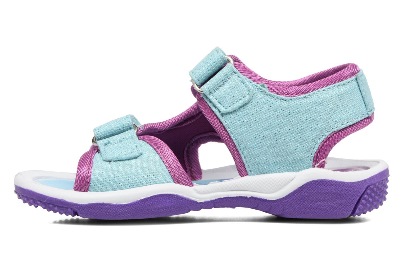 Sandales et nu-pieds Frozen NESS Bleu vue face