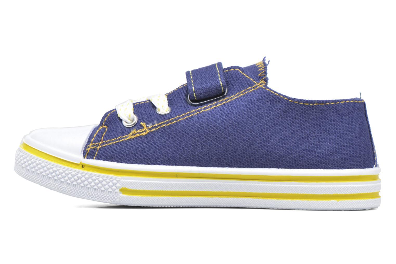 Sneakers Minions Nino Blå se forfra