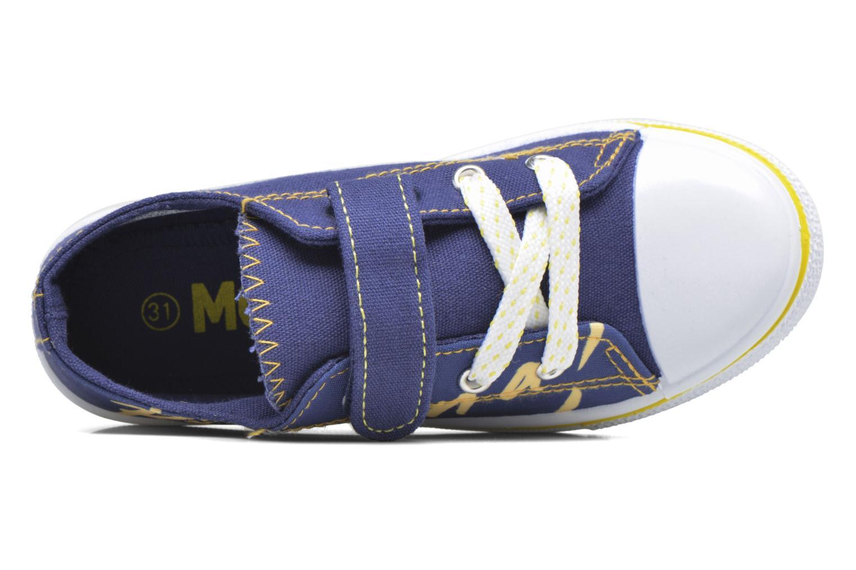 Baskets Minions Nino Bleu vue derrière