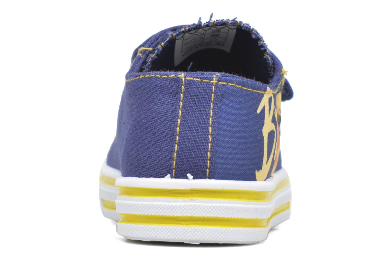 Baskets Minions Nino Bleu vue haut