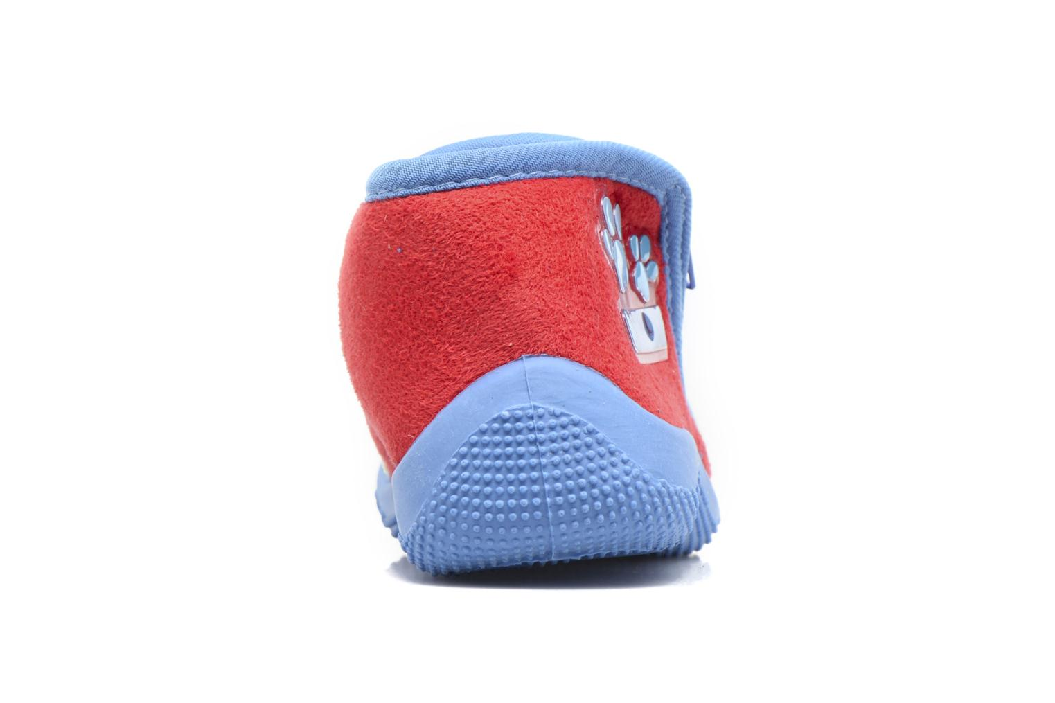 Slippers Pat Patrouille SCOOTER Blue view from the right