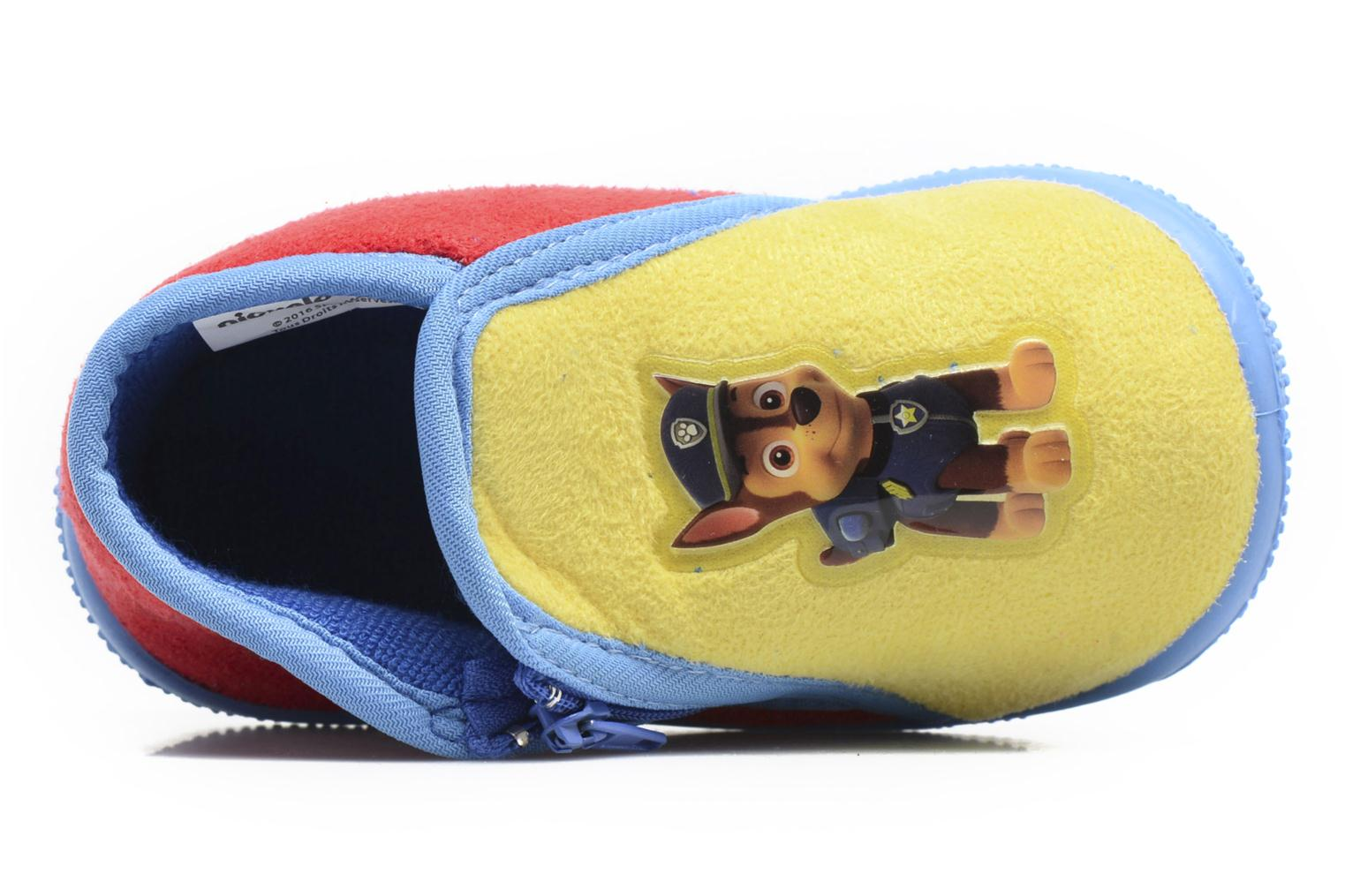 Slippers Pat Patrouille SCOOTER Blue view from the left