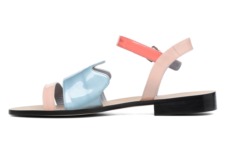 Sandales et nu-pieds Apologie Vague Bleu vue face