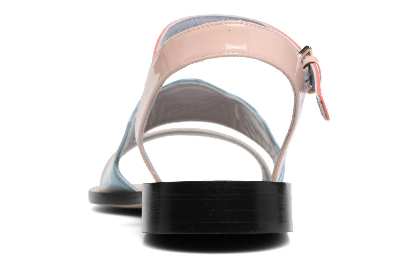 Sandales et nu-pieds Apologie Vague Bleu vue droite