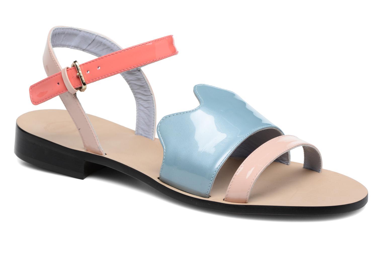 Sandales et nu-pieds Apologie Vague Bleu vue détail/paire