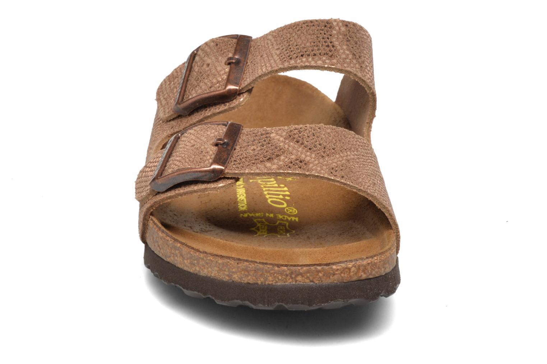Mules et sabots Papillio Arizona Or et bronze vue portées chaussures