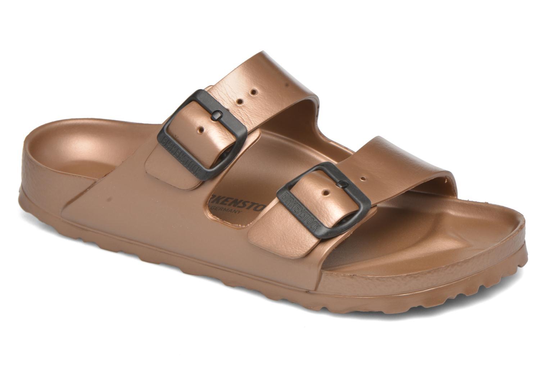 Clogs og træsko Birkenstock Arizona W (Smal model) Brun detaljeret billede af skoene