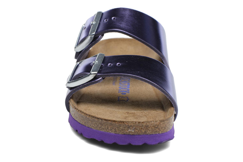 Mules et sabots Birkenstock Arizona W Violet vue portées chaussures