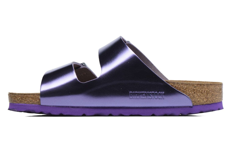 Clogs & Pantoletten Birkenstock Arizona W lila ansicht von vorne