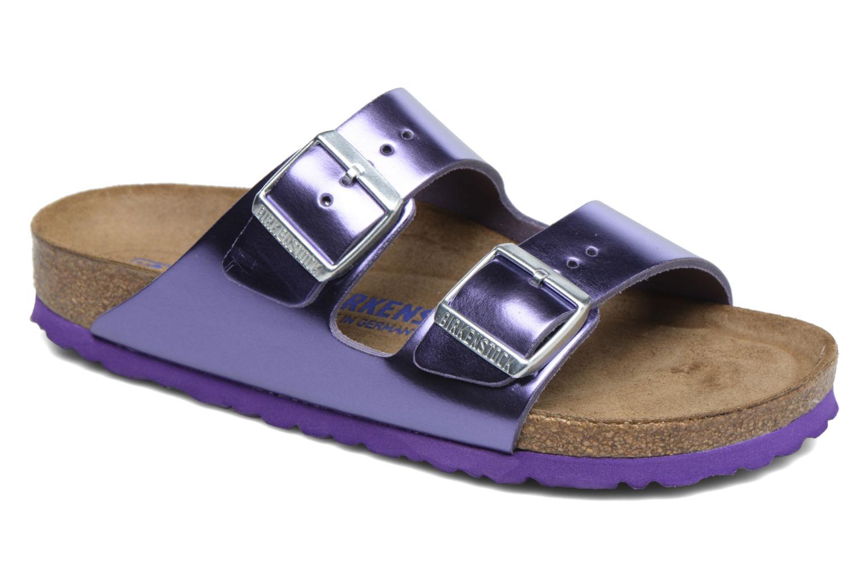 Clogs & Pantoletten Birkenstock Arizona W lila detaillierte ansicht/modell