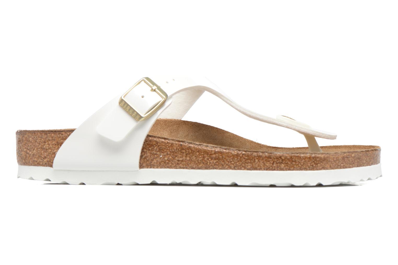 Sandales et nu-pieds Birkenstock Gizeh W Blanc vue derrière