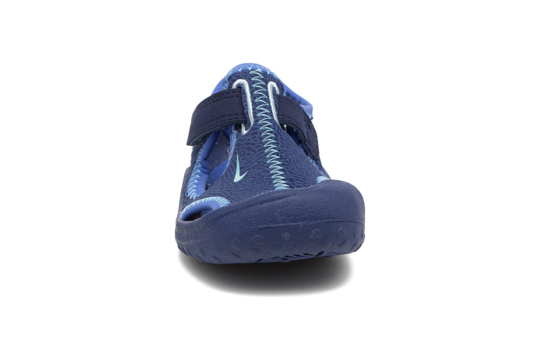 Sandales et nu-pieds Nike Nike Sunray Protect (Td) Bleu vue portées chaussures