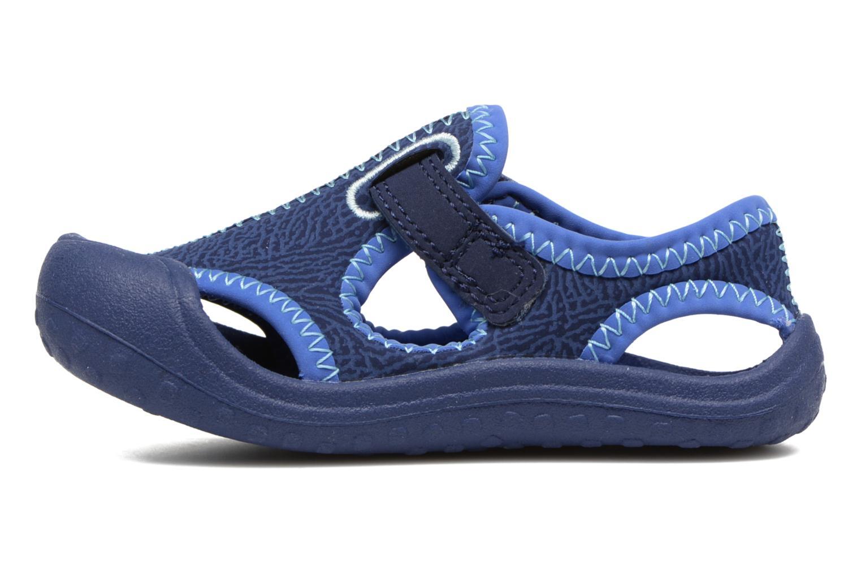 Sandales et nu-pieds Nike Nike Sunray Protect (Td) Bleu vue face