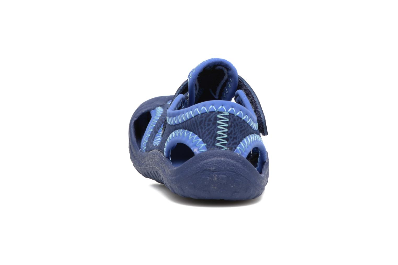 Sandales et nu-pieds Nike Nike Sunray Protect (Td) Bleu vue droite