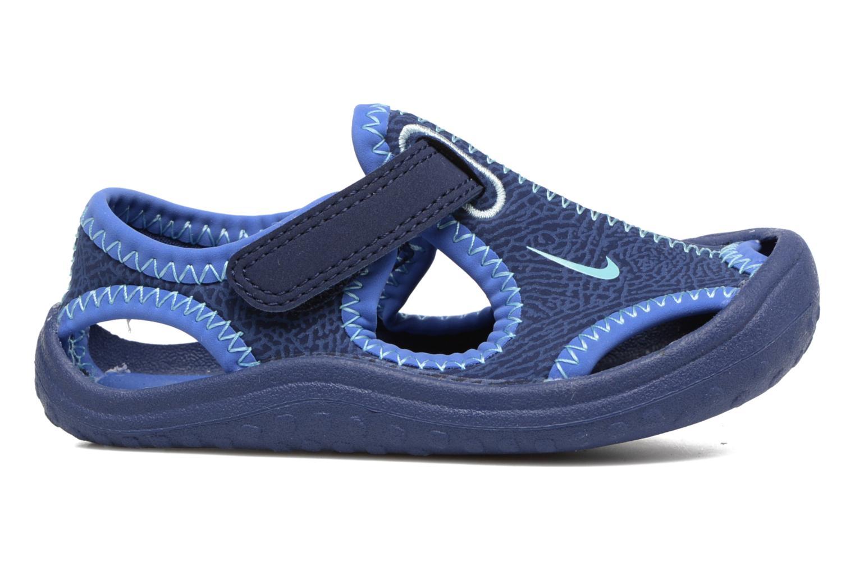 Sandales et nu-pieds Nike Nike Sunray Protect (Td) Bleu vue derrière
