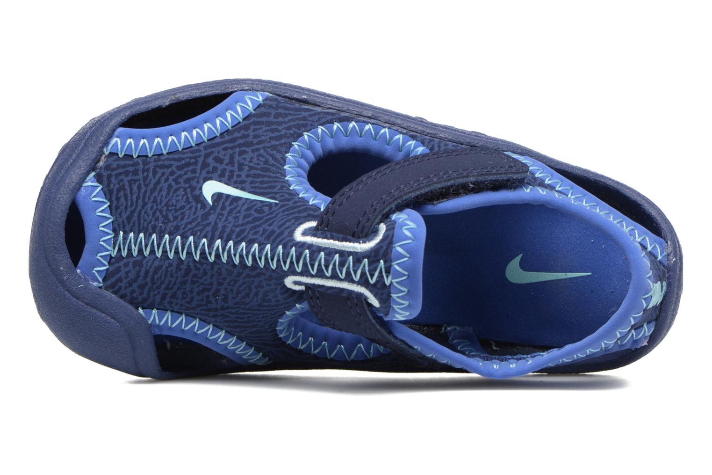 Sandales et nu-pieds Nike Nike Sunray Protect (Td) Bleu vue gauche