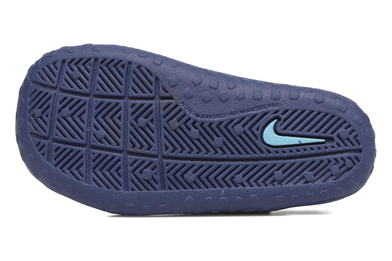 Sandales et nu-pieds Nike Nike Sunray Protect (Td) Bleu vue haut