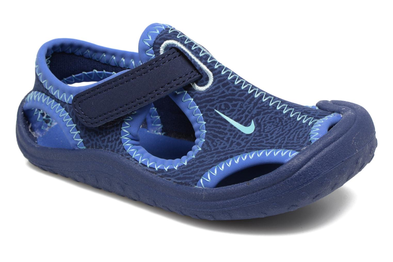 Sandales et nu-pieds Nike Nike Sunray Protect (Td) Bleu vue détail/paire