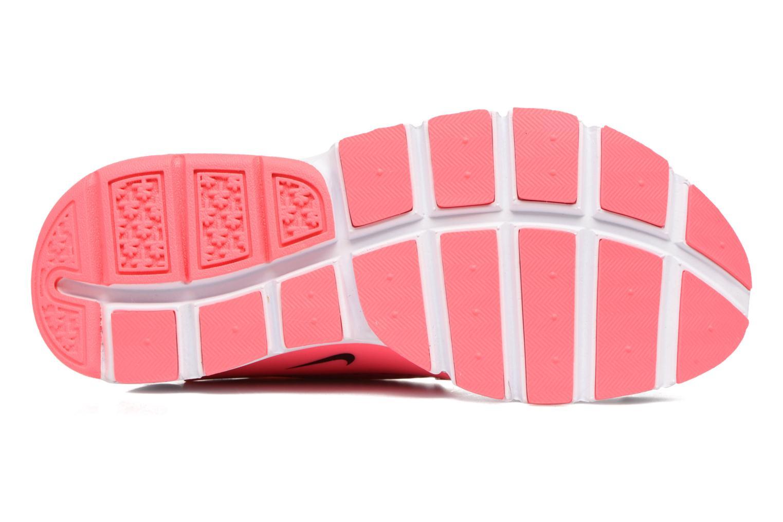 Baskets Nike Nike Sock Dart (Gs) Noir vue haut