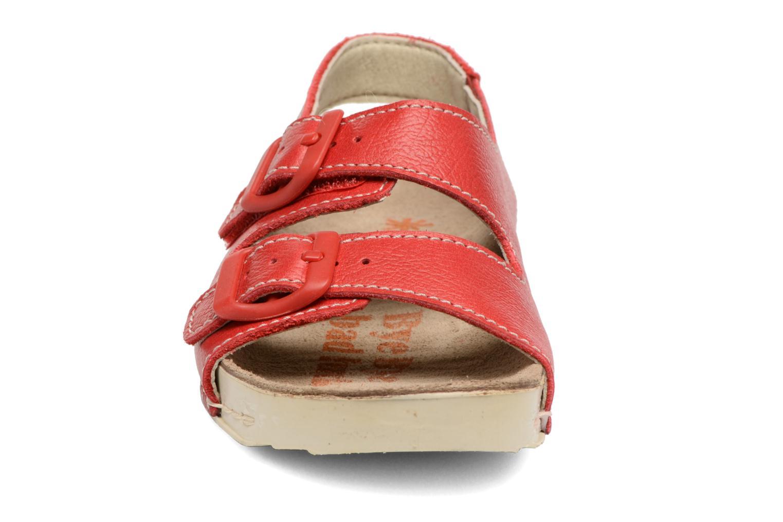 Sandales et nu-pieds Art A436 I Play Rouge vue portées chaussures
