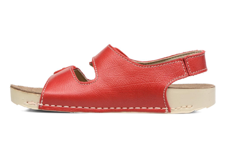 Sandales et nu-pieds Art A436 I Play Rouge vue face