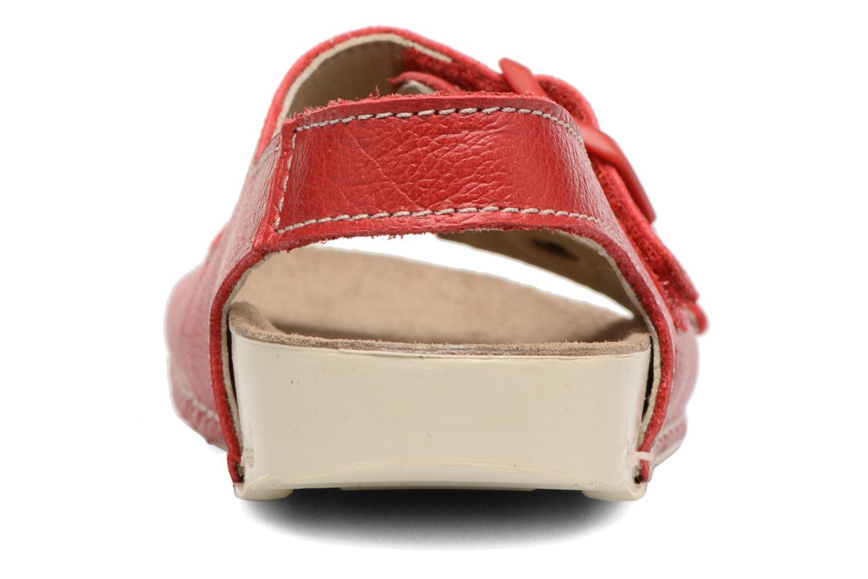 Sandales et nu-pieds Art A436 I Play Rouge vue droite