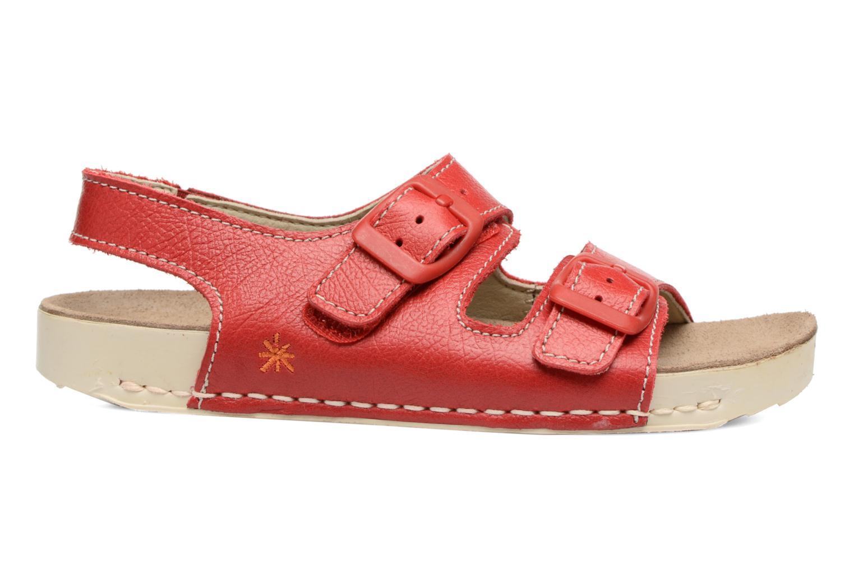 Sandales et nu-pieds Art A436 I Play Rouge vue derrière