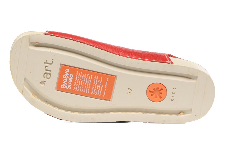 Sandales et nu-pieds Art A436 I Play Rouge vue haut