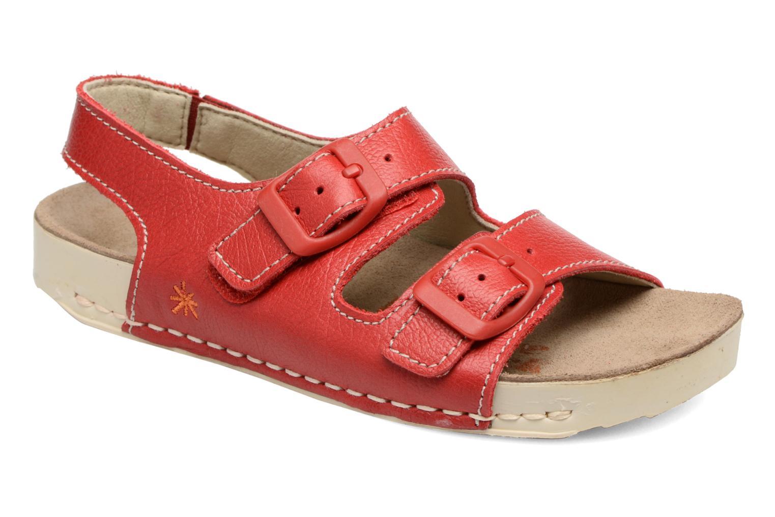 Sandales et nu-pieds Art A436 I Play Rouge vue détail/paire
