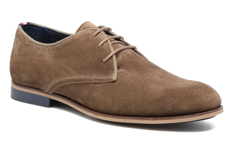 Tommy Hilfiger Campbell 2B (Marron) - Chaussures à lacets chez Sarenza (282825)
