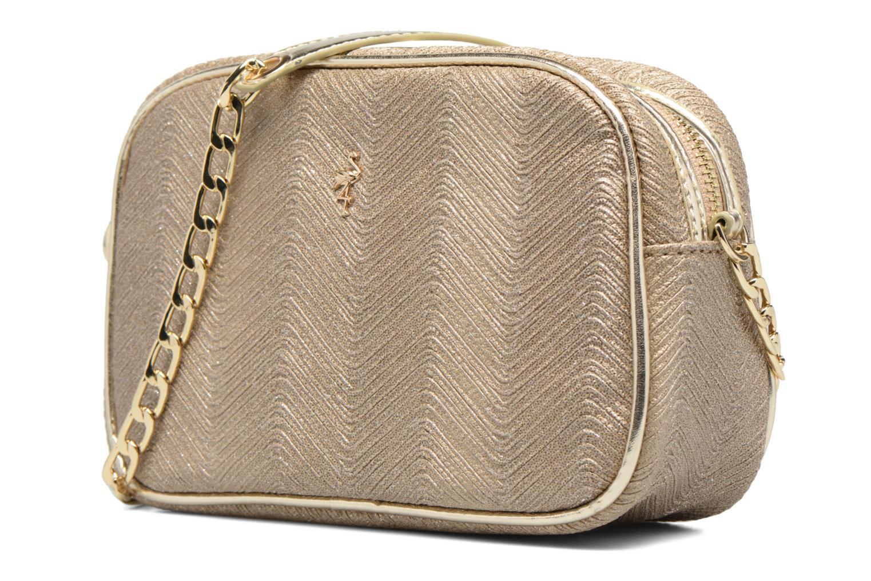 Handbags Menbur BRAZZAVILLE Bronze and Gold model view