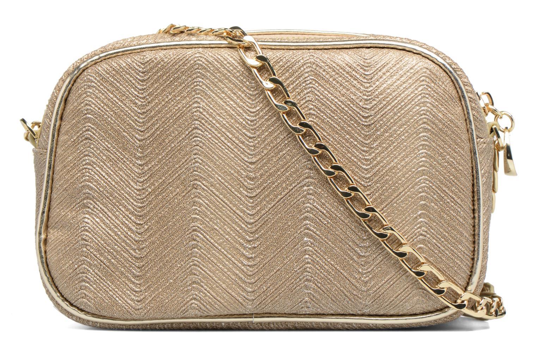 Handbags Menbur BRAZZAVILLE Bronze and Gold front view