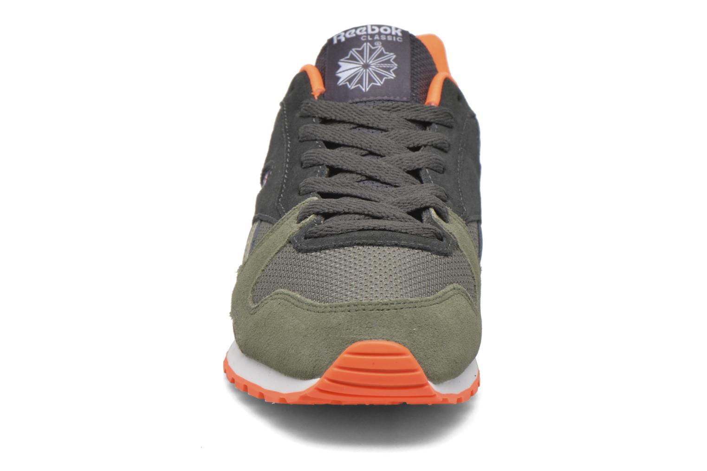 Baskets Reebok Gl 3000 Sp Vert vue portées chaussures