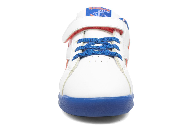 Baskets Reebok Step N' Flash 3.0 Blanc vue portées chaussures