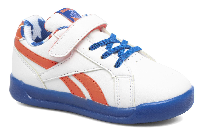 Baskets Reebok Step N' Flash 3.0 Blanc vue détail/paire