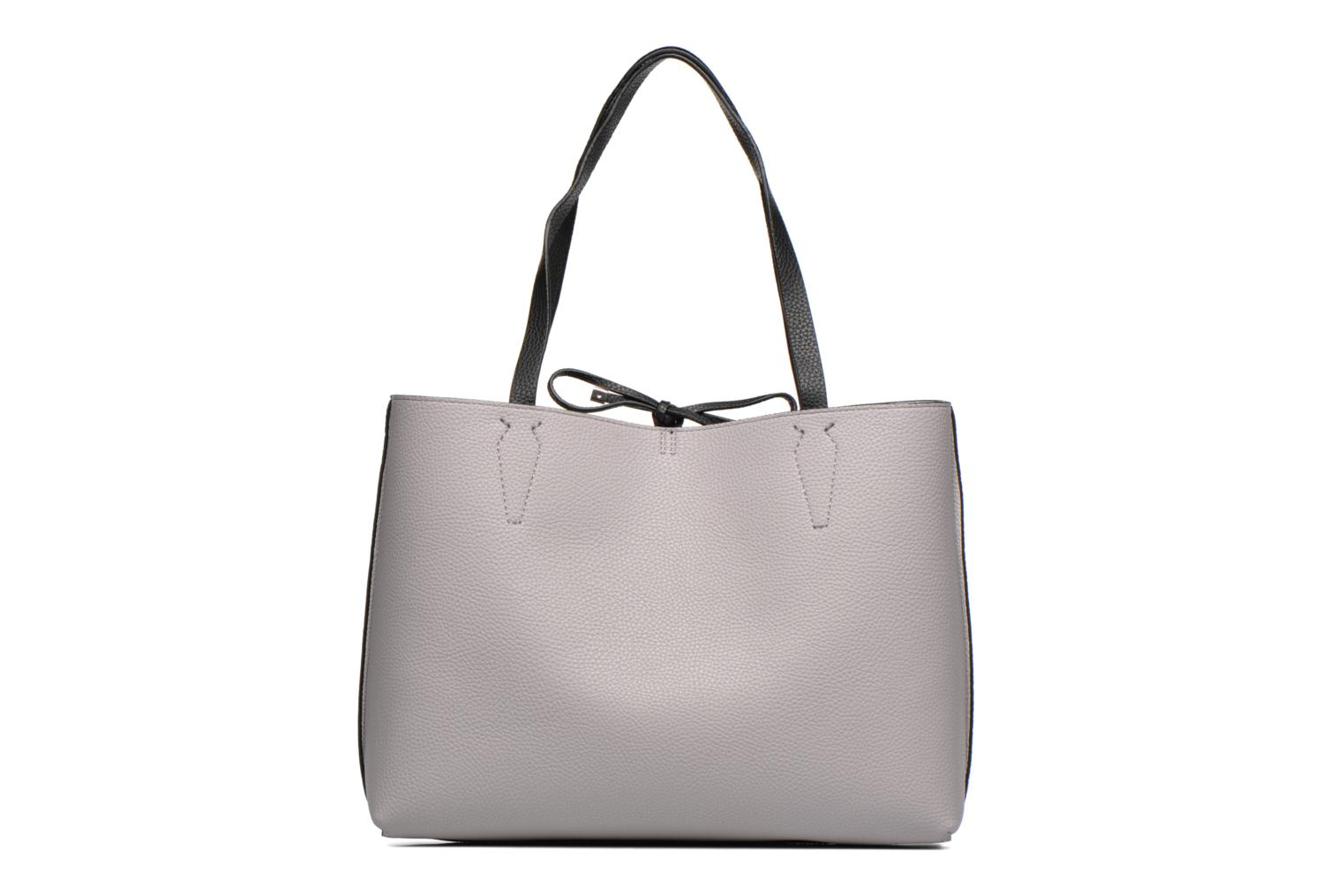 Sacs à main Guess Bobbi Inside Out Tote Gris vue face