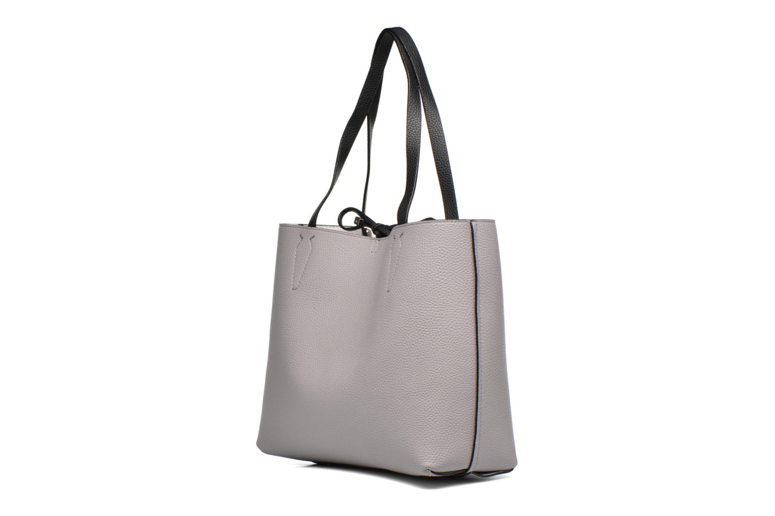 Sacs à main Guess Bobbi Inside Out Tote Gris vue droite