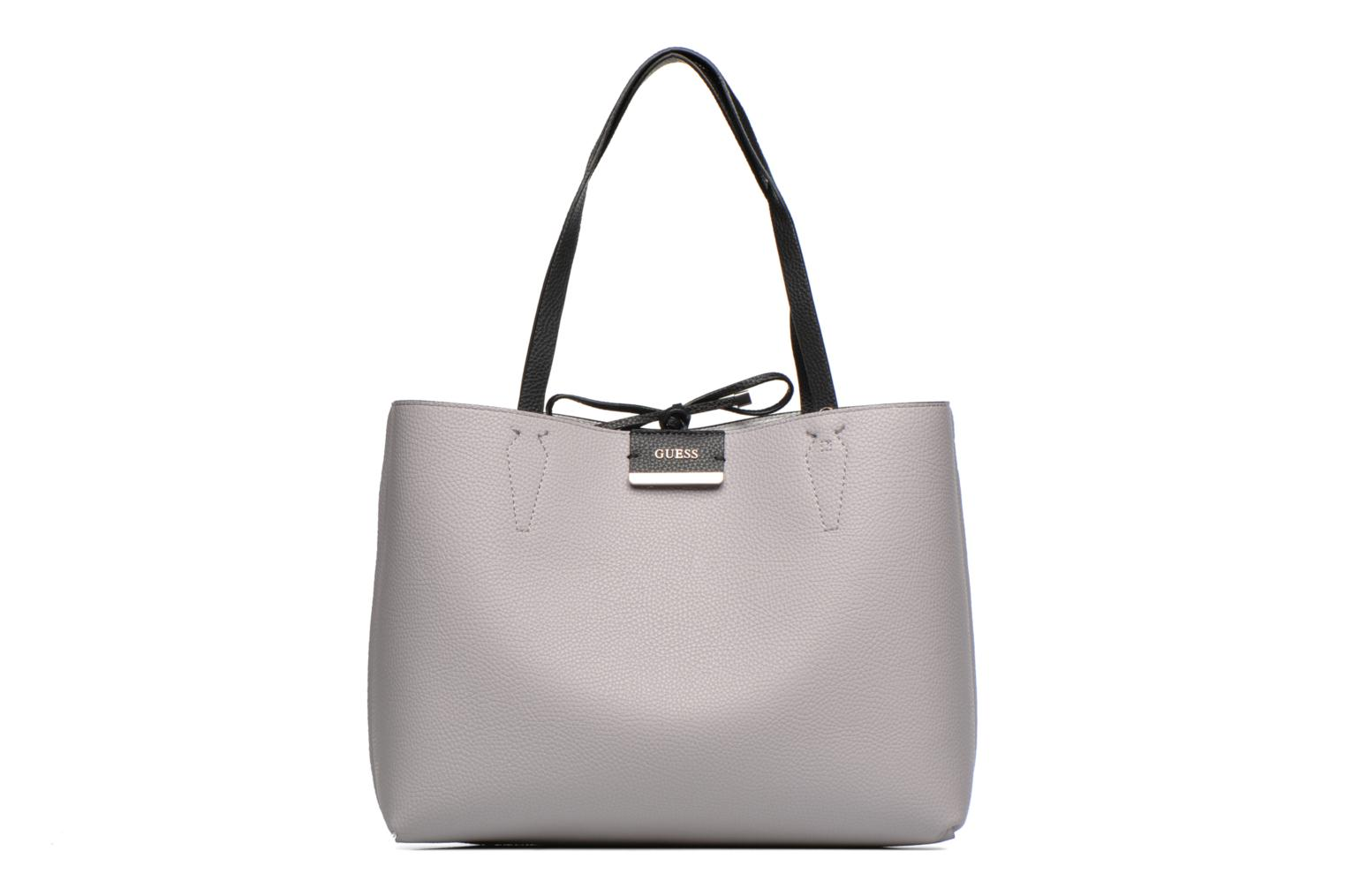 Sacs à main Guess Bobbi Inside Out Tote Gris vue détail/paire