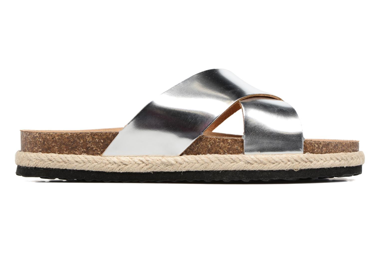 Clogs & Pantoletten I Love Shoes KANE silber ansicht von hinten