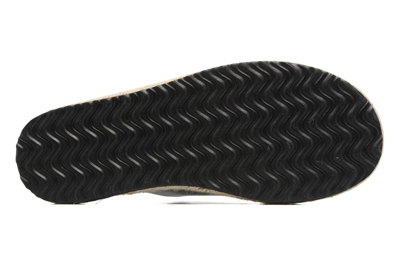 Clogs & Pantoletten I Love Shoes KANE silber ansicht von oben