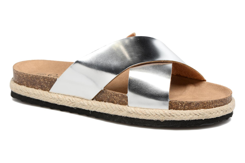 Zuecos I Love Shoes KANE Plateado vista de detalle / par