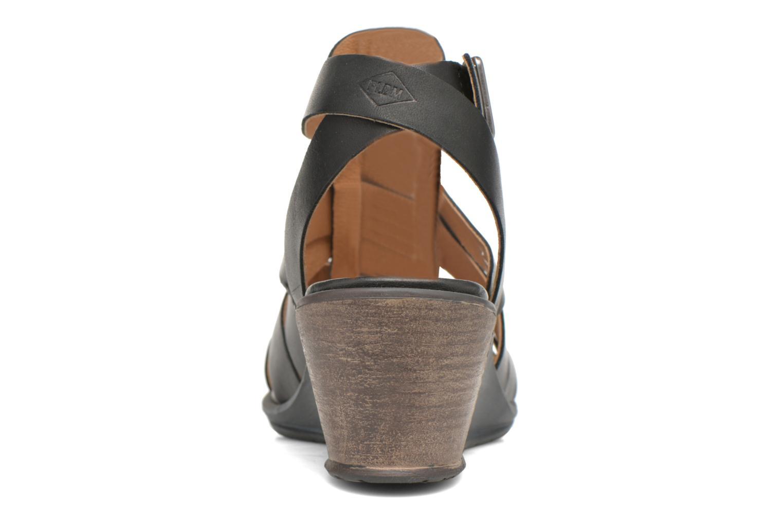 Sandales et nu-pieds P-L-D-M By Palladium Shannon Vgt Noir vue droite