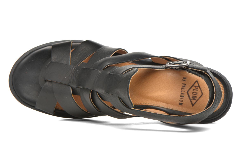 Sandales et nu-pieds P-L-D-M By Palladium Shannon Vgt Noir vue gauche