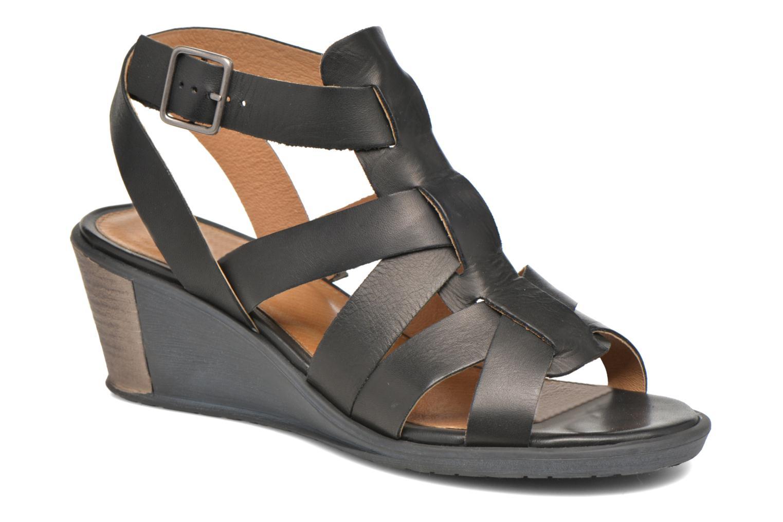 Sandales et nu-pieds P-L-D-M By Palladium Shannon Vgt Noir vue détail/paire