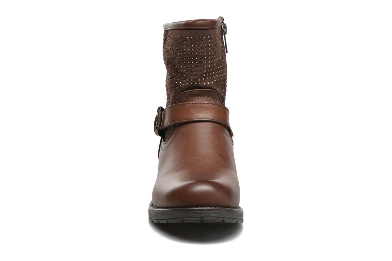 Bottines et boots Refresh Elisa-61425 Marron vue portées chaussures