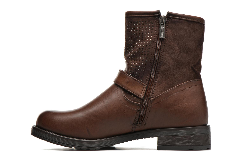 Bottines et boots Refresh Elisa-61425 Marron vue face