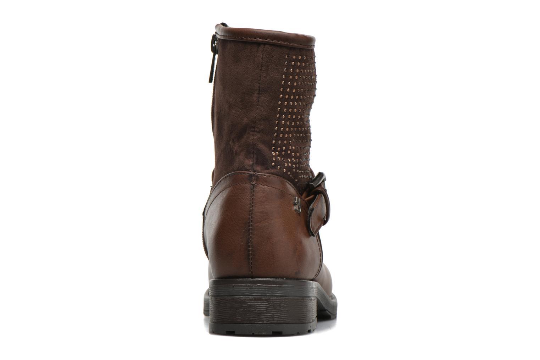 Bottines et boots Refresh Elisa-61425 Marron vue droite