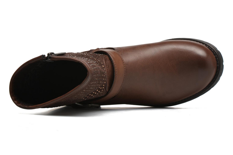 Bottines et boots Refresh Elisa-61425 Marron vue gauche