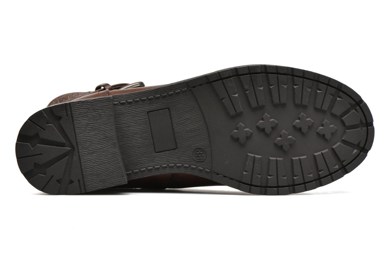 Bottines et boots Refresh Elisa-61425 Marron vue haut
